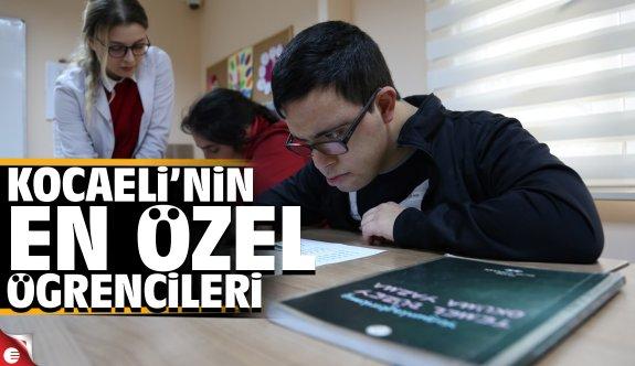 Özel öğrenciler okuma yazma öğrendi