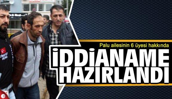Palu davasının iddianamesi hazırlandı