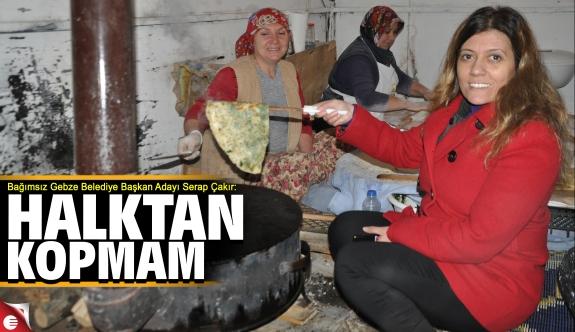 Serap Çakır 'Sıradışı bir belediye başkanı olacağım'