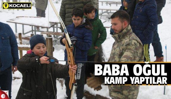 Spor Okullarından ''Baba Oğul Kampı''