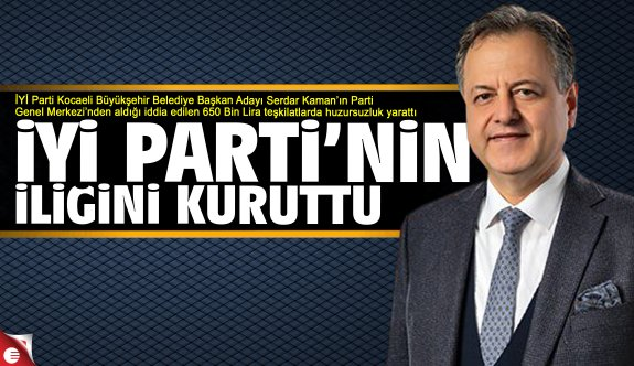 Dr. Serdar Kaman teşkilatların moralini bozdu