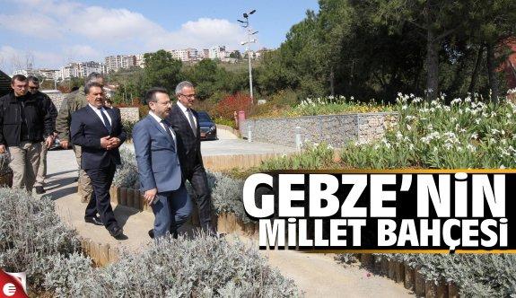 Vali Aksoy Eskihisar Millet Bahçesini inceledi