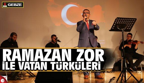 Vatan Türküleri Gebze'de yankılanacak