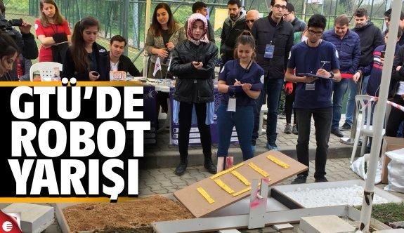 Yaratıcı Ruhlar Robotlarını GTÜ'de yarıştıracak
