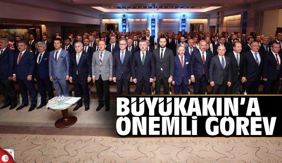 Büyükakın, Marmara Belediyeler Birliği'nin 16. başkanı olarak seçildi
