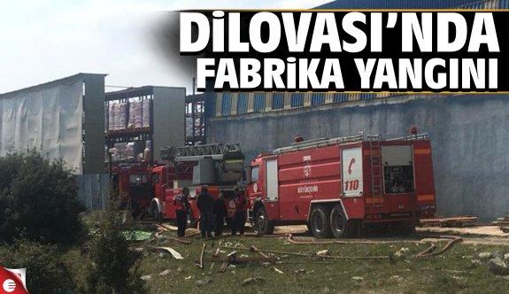 Dilovası'nda korkutan fabrika yangını