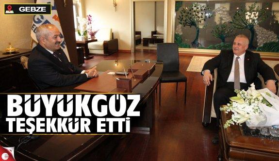 MHP'den Başkan Büyükgöz'e  hayırlı olsun ziyareti