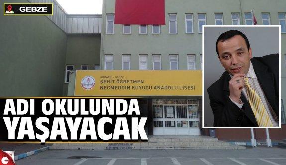 Şehit Öğretmen Necmeddin Kuyucu Anadolu Lisesi
