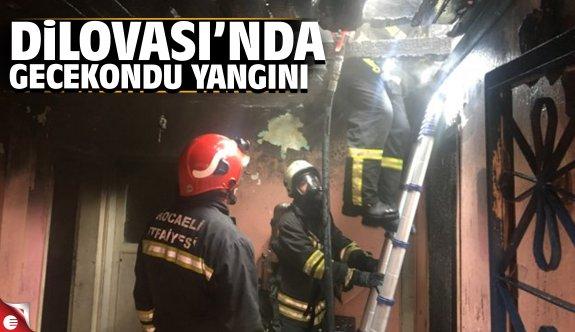 Dilovası'nda gecekondu yangını