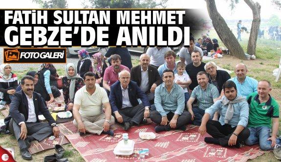 Hünkar Çayırı'nda Fatih Anma Programı
