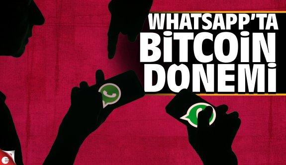 WhatsApp'ta Bitcoin dönemi