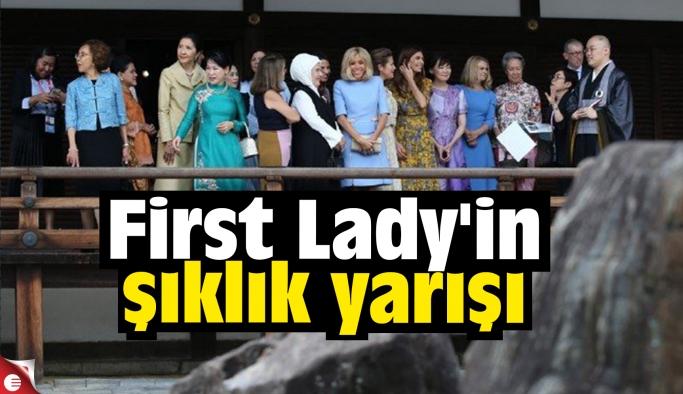 First Lady'in şıklık yarışı