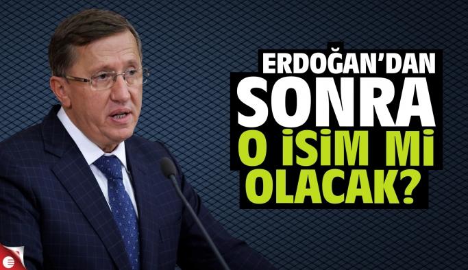 Şok iddia! Erdoğan sonra o isim mi olacak?