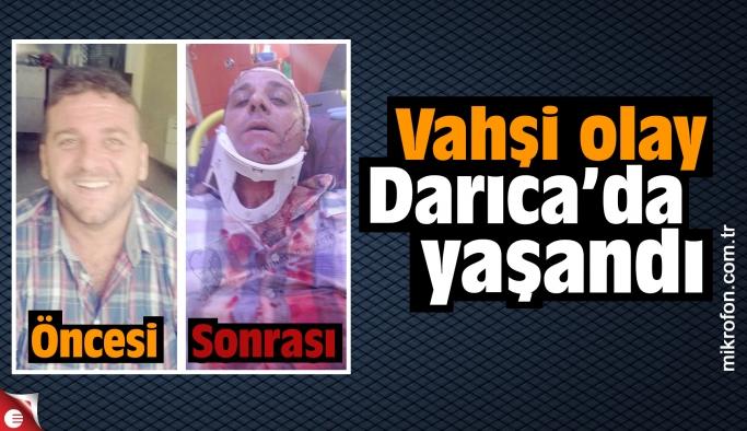 Faruk Uca sopalarla dövülerek ağır yaralandı