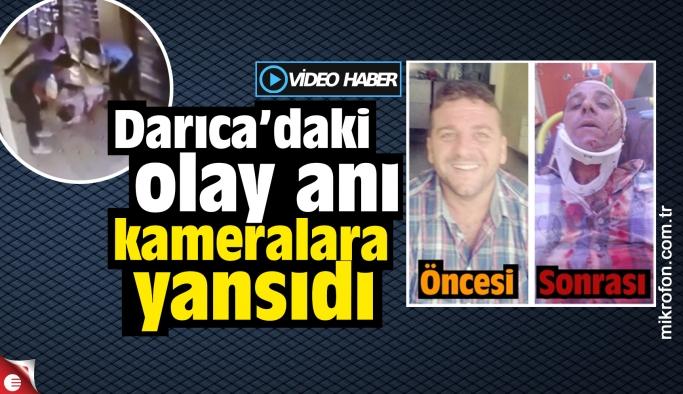 Faruk Uca'ya yapılan saldırı kameralara yansıdı