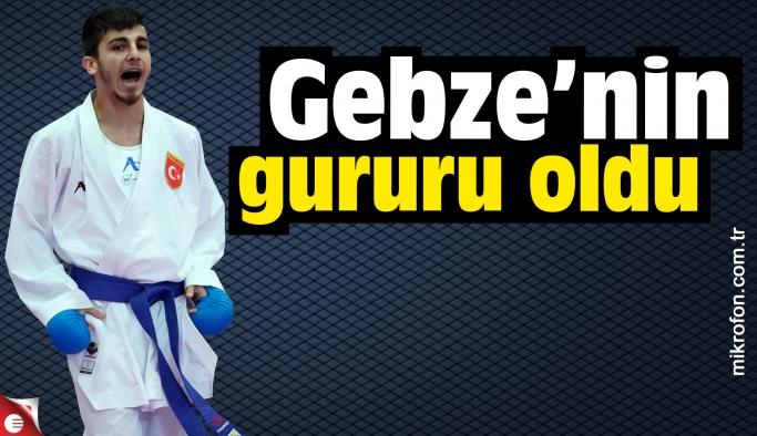 Şamdan Gebze'nin bir kez daha gururu oldu