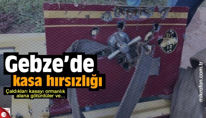 Gebze'de kasa hırsızları yakalandı