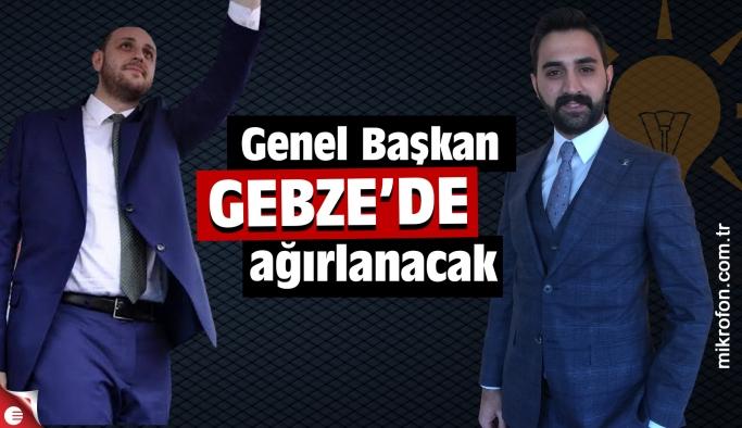 AK Genç Gebze Genel Başkanlarını ağırlayacak