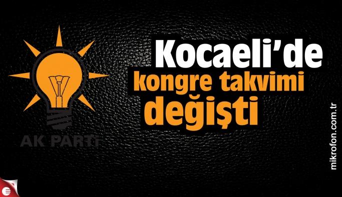 AK Parti Kocaeli'de kongre takvimi değişti