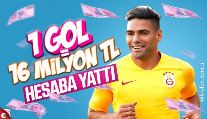 Galatasaray'ın Falcao'ya ödediği para
