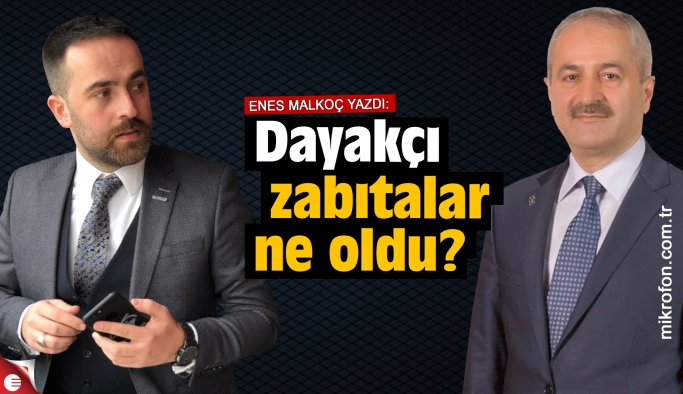 Enes Malkoç yazdı; Zinnur Büyükgöz sözünü unuttu mu?