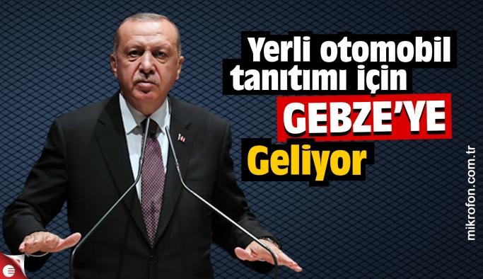 Yerli otomobilin test sürüşünü Erdoğan yapacak