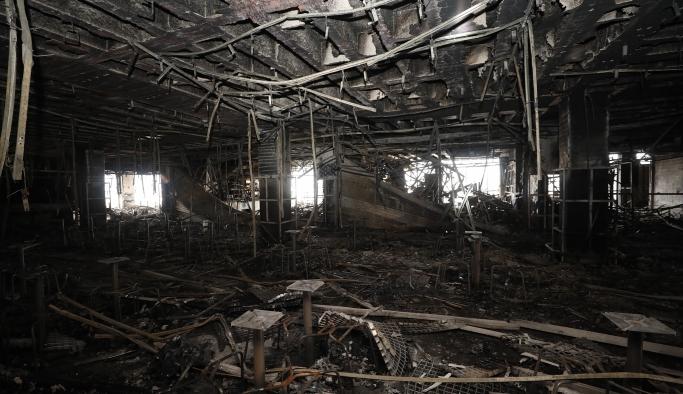 DarıcaPark'ın yangınsan sonraki fotoğrafları