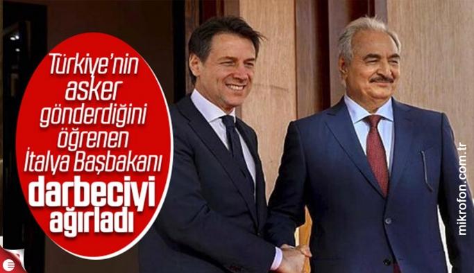 İtalya Başbakanı Conte, darbeci Hafter ile görüştü