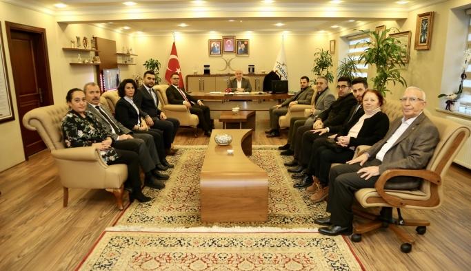 Muzaffer Bıyık CHP'li başkanı ağırladı