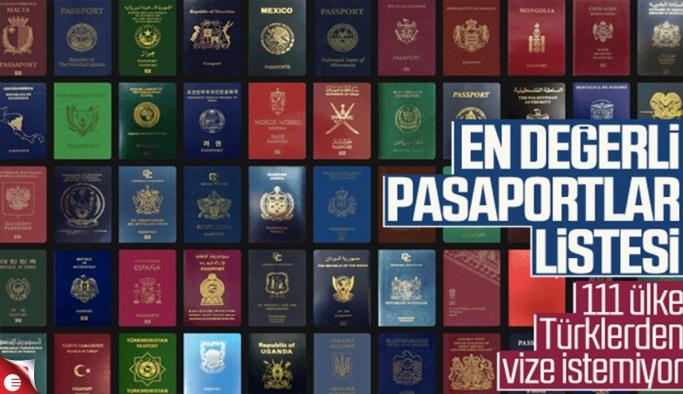 Ülkelerin pasaport sıralaması yayınlandı