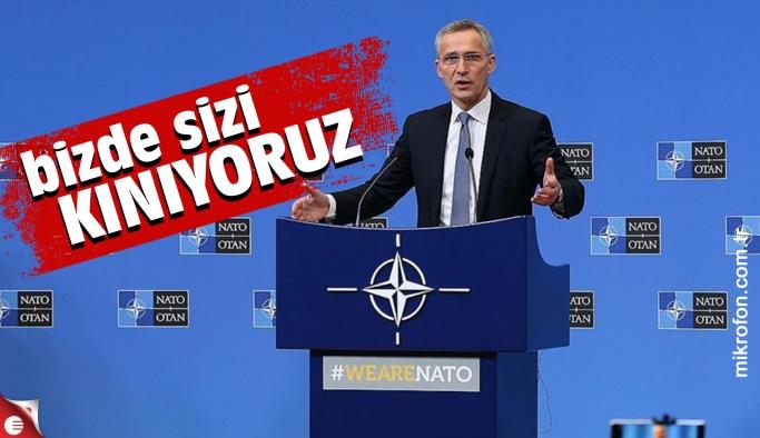 NATO yine kınadı
