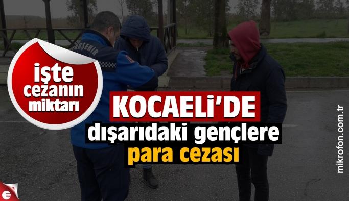 Kocaeli'de 20 yaş altına para cezası