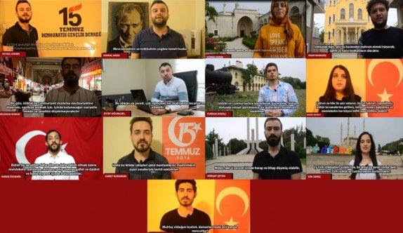 """Gençler """"Atatürk'ün Gençliğe Hitabesi"""" klibi hazırladı"""