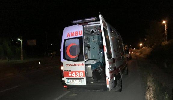 """Boş ambulansla """"dur"""" ihtarına uymayan sürücüye para cezası"""