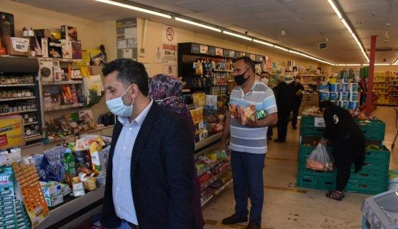 Tekirdağ'da marketlerde yoğunluk yaşandı