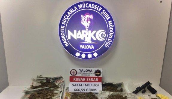 Yalova ve Kocaeli'de uyuşturucu operasyonunda 4 gözaltı