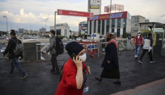 İki günlük kısıtlamanın ardından İstanbul güne hareketli başladı