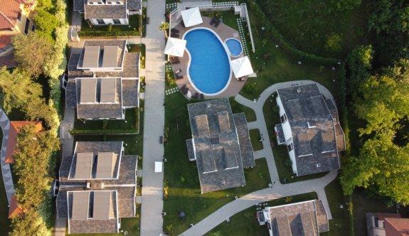 Sapanca'daki villa tipi otellere tatilci ilgisi