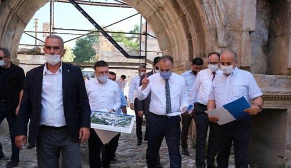 İznik'te 2 bin yıllık İstanbul Kapısı eski ihtişamına kavuşuyor
