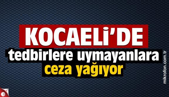 Kocaeli'de koronavirüs tedbirlerine uymayan 53 kişiye para cezası verildi