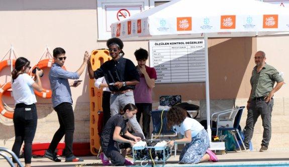 KOÜ'nün insansız su altı aracı test edildi