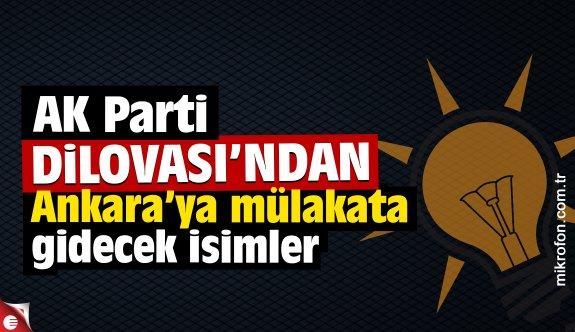 AK Parti Dilovası'nda Ankara'ya gidecek isimler