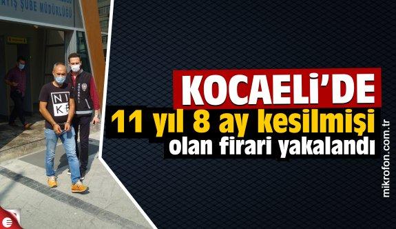 Aranan yağmacı hükümlü Kocaeli'de yakalandı