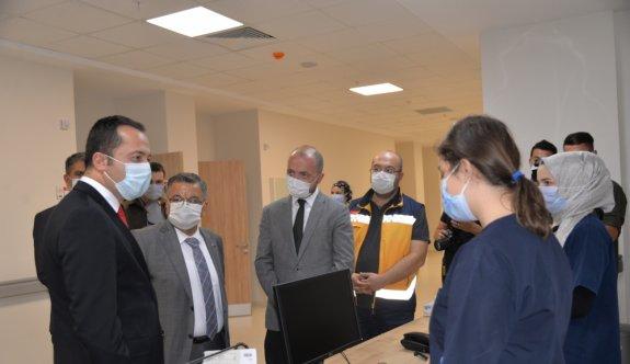 Bilecik Devlet Hastanesi hasta kabulüne başladı