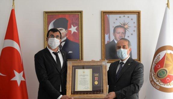 Bilecik'te Devlet Övünç Madalyası ve Beratı Tevcih Töreni