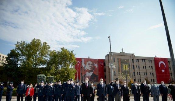 Bursa ve çevre illerde 19 Eylül Gaziler Günü dolayısıyla törenler düzenlendi
