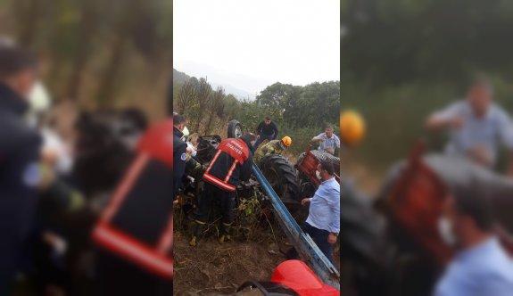 Bursa'da traktör kazasında Faruk Arslan hayatını kaybetti