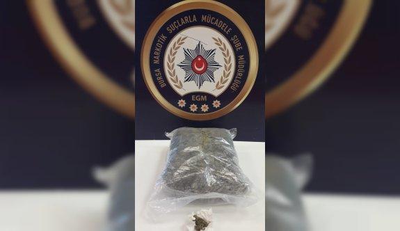 Bursa'daki uyuşturucu operasyonunda iki kişi tutuklandı