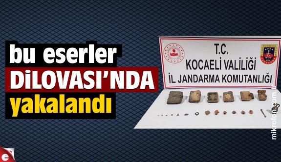 Dilovası'nda tarihi eser kaçakçılığı operasyonu: 5 gözaltı