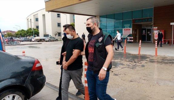 Araba anahtarı görünümünde hassas terazi kullanan uyuşturucu zanlısı tutuklandı